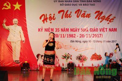 Bế mạc Hội thi văn nghệ kỷ niệm 35 năm ngày Nhà giáo Việt Nam