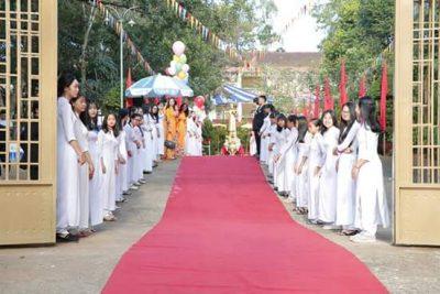 Trường THPT Chu Văn An kỷ niệm 40 năm thành lập trường, 35 năm ngày Nhà giáo Việt Nam